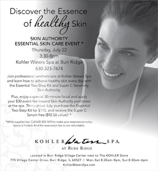 Kohler Essential Skin Beauty Event