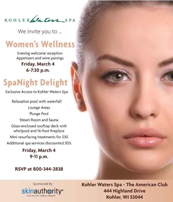 Kohler Waters Spa Weekend of Wellness