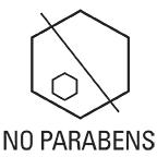 No Parabens